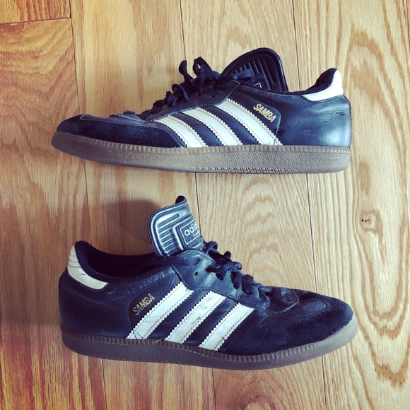 351621ccb adidas Shoes | Kids Black White Samba Soccer | Poshmark